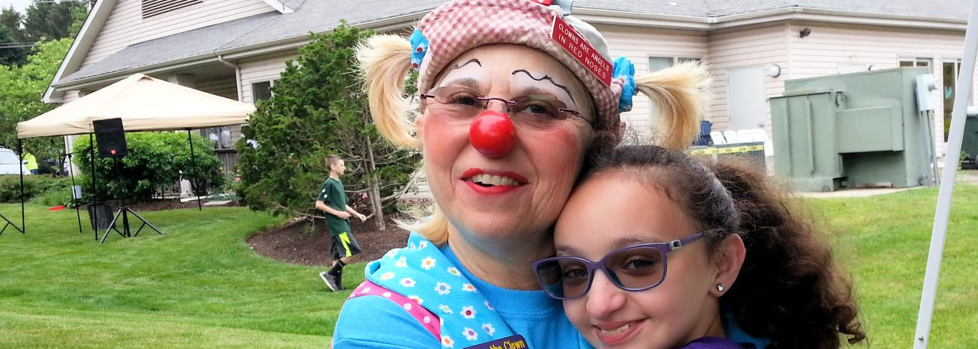 Chippy the Clown brings happiness to kids of all ages