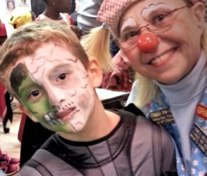 Face Painting with Chippy The Clown