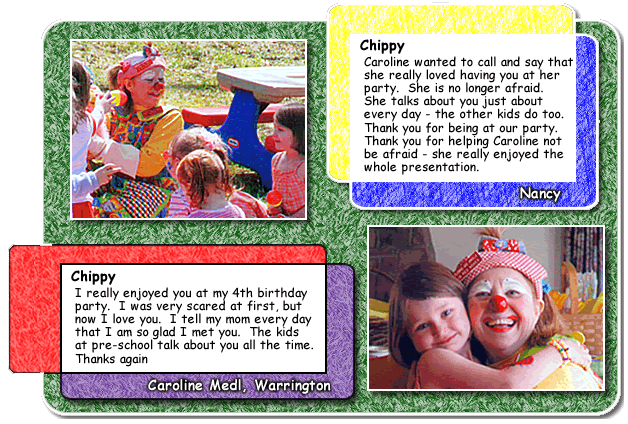 Reviews Chippy The Clown