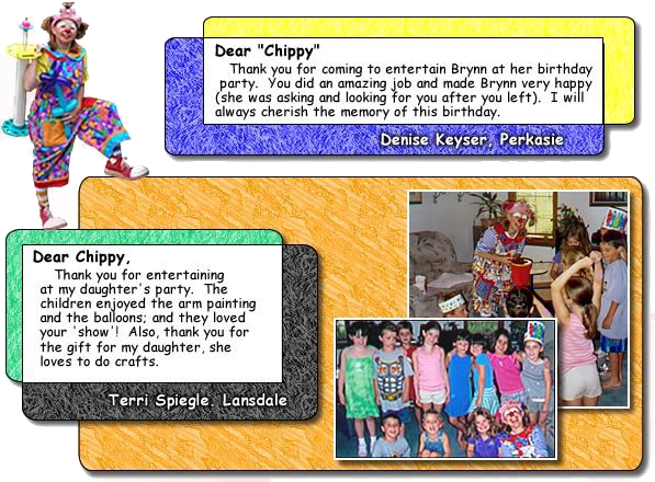 Chippy The Clown Appearances